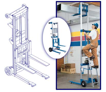 Genie® Lift(tm)??? Lift Height?4 ft 2 in - 12 ft??? (1.3 - 3.7 m)??? Lift Capacity?350 - 500 lb??? (159 - 227 kg)