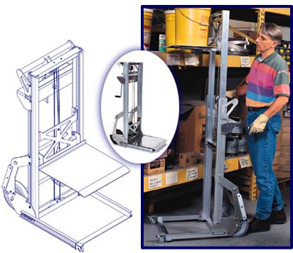 Genie® Load Lifter(tm)?? Lift Height?5 ft 8 in.???(1.7 m)???Lift Capacity?200 lb???(91 kg)