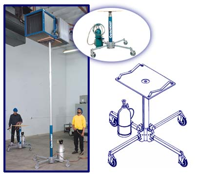 Genie® Super Hoist(tm) Lift Height?12 ft 6 in - 18 ft 6 in (3.8 - 5.6 m) Lift Capacity 250 - 300 lb (113-136 kg)