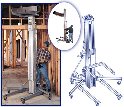 Genie® Superlift(tm) Contractor??? Lift Height?11 ft 2 in - 24 ft??? (1.7 - 7.3 m)??? Lift Capacity?160 - 650 lb??? (73 - 295 kg)